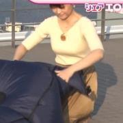 渡辺渚アナ ニットおっぱい