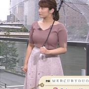 鷲尾千尋アナ 関西の巨乳アナ